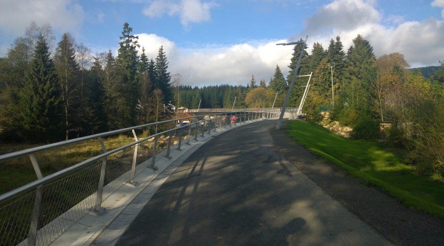 Fuß- und Radwegbrücke in Schierke