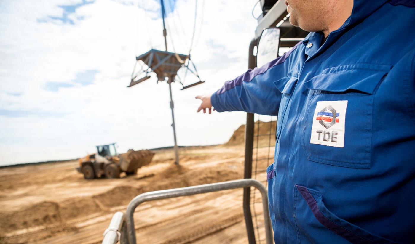 Leistungen - TDE Mitteldeutsche Bergbau Service GmbH   Firmenstandort Espenhain