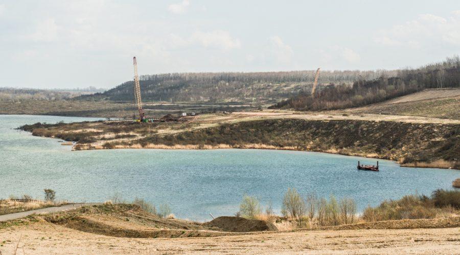 TDE Mitteldeutsche Bergbau Service GmbH | Wasserpontons in Nachterstedt